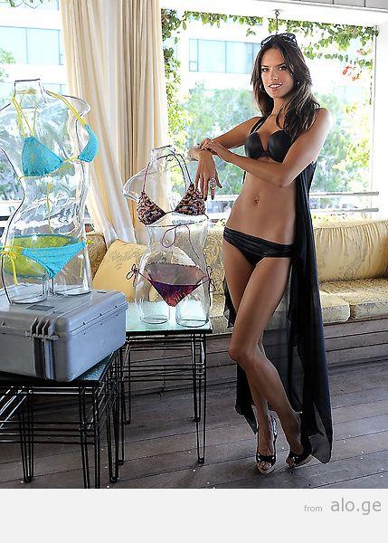 VS Angels Celebrate The 2011 Victoria's Secret SWIM Collection