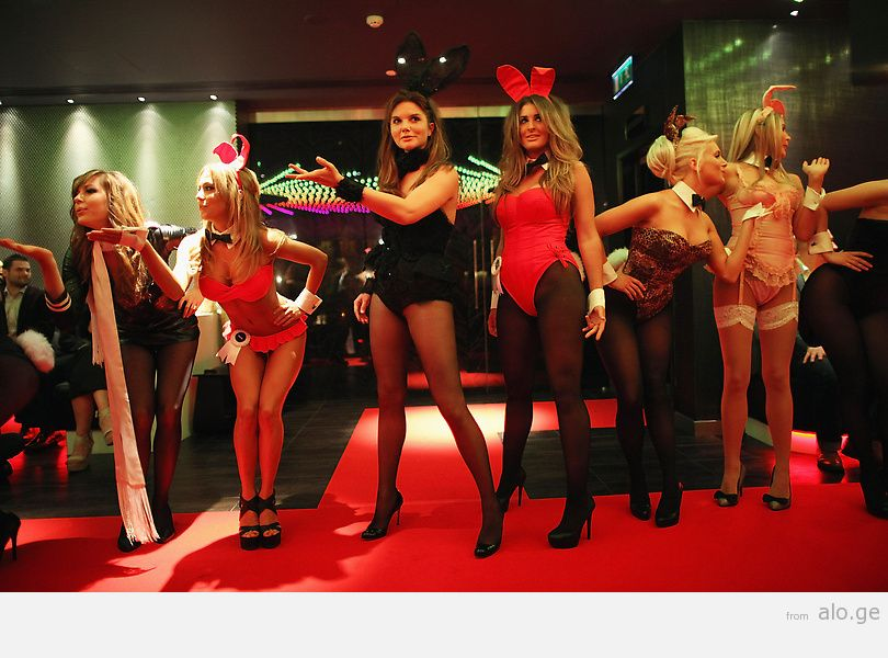 Launch Of The Marchesa Designed Playboy Bunny Costume Ahead Of The Opening Of The Playboy Club London