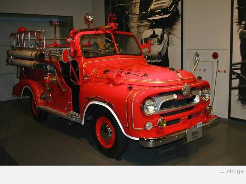 Classic Japanese Fire Engine (1959)